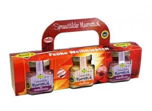 Weihnachtsbox - Scharfe Kiste Meerrettich (3er-Pack)