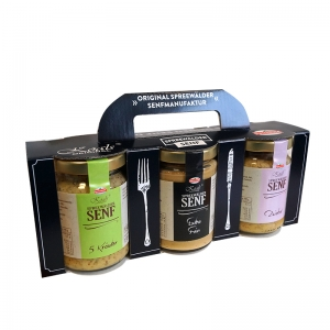 Senf GP mit 5 Kräuter - Extrafein - Zwiebel *S