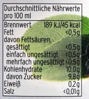Aroniasaft 100% aus dem Spreewald in der 700ml Flasche