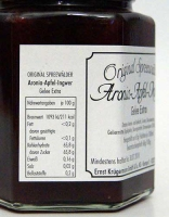 Aronia-Apfel-Ingwer Gelee extra - 200g