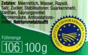 Spreewälder Meerrettich Pur -  100g, natürlich vegan