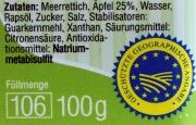 Spreewälder Meerrettich Apfel - 100g