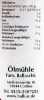 Schwarzkümmelöl B. 100ml
