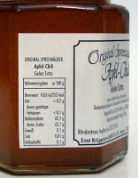 Apfel-Chili Gelee extra - 200g