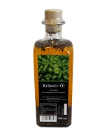 Kräuter Öl aus kaltgepresstem Rapsöl 500ml