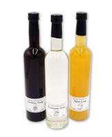 Essig Sparpaket - Himbeer-Apfel-Branntwein 3x500ml , 5-10% Säure