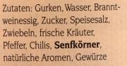 Original Spreewälder Pfeffergurken 370ml
