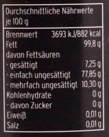 Haselnussöl kaltgepresst - nativ 100ml