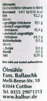 Hanföl Spreewälder Balbur B. - 100ml