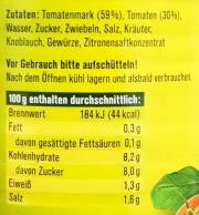 Tomatensauce*** Klassisch von Rabe 380ml