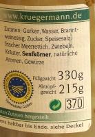 Original Spreewälder Meerrettich Senfgurken 720ml